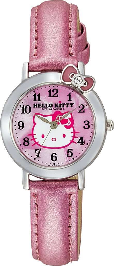 Hello Kitty Classic Ribbon Analogue Watch (Pink) - Hello Kiity Watch ( Lady / Girls size)
