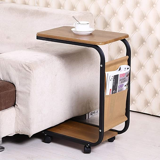 Amazon.com: CLEAVE WAVES U-Shaped Sofa Side Table with ...