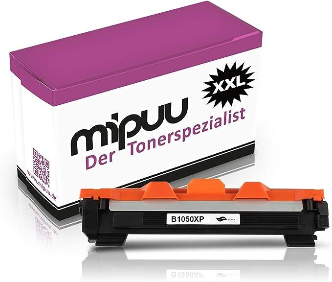 Mipuu Toner Compatible With Brother Tn 1050 Black 2000 Pages For Hl 1110 Hl 1112 Hl 1210 Hl 1210w Hl 1212w Dcp 1610w Dcp 1612w Dcp 1512 Dcp 1510 Mfc 1810 Mfc 1810w Mfc 1910w Bürobedarf Schreibwaren