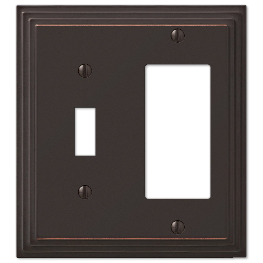 Step Design Toggle and GFCI Decora Rocker Wall Switch Plate Outlet ...