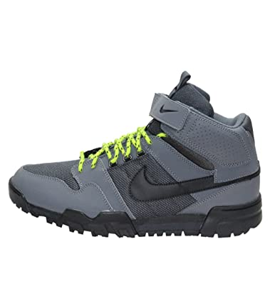 uk availability 2bb18 425c4 Nike Mogan Mid 2 OMS 535836-003 Mens Trainers SS13 Dark Grey Black UK7   Amazon.co.uk  Shoes   Bags