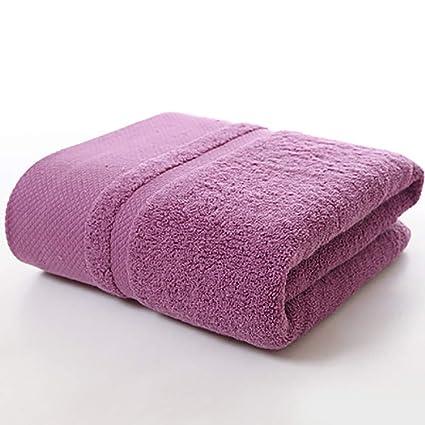 Maiyatang Algodón Espesado Toalla de baño 70 * 140cm, absorción de Humedad Respirable, Alta