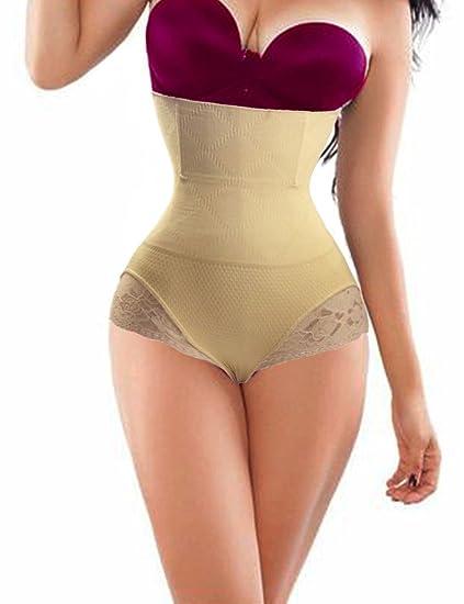 4c7a52c5ecff0 Lelinta Women s Butt Lifter Shaper Seamless Tummy Control Hi-waist Thigh  Slimmer
