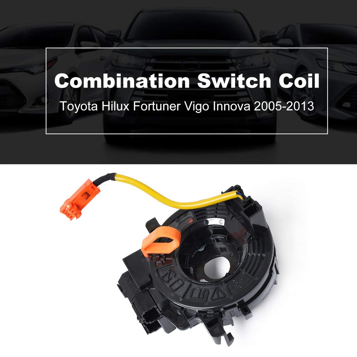 Zinniaya Ressort de contact pour Toyota Hilux Fortuner Vigo Innova 2005-2013 84306-0K020 84306-0K021 843060K020 843060K021