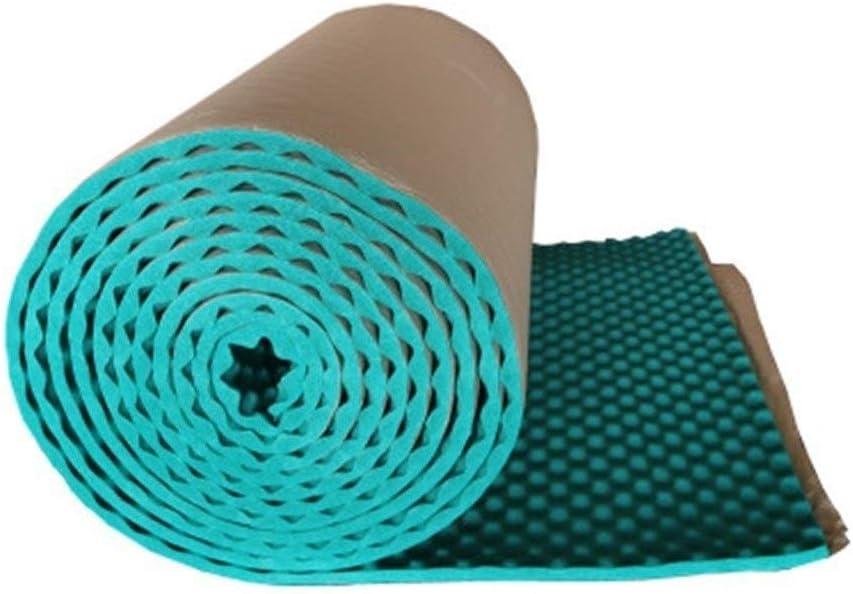 家庭用音響パネル、防火防水吸音綿のベッドルームスタディアコースティックパネル厚さ:2.5M (Color : Green)