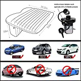 HAITRAL Portable Travel Camping Inflatable Mattress with Pillow Fits Most Car Models for Camping Travel and Car, Flitaing Bed, Floating Bed