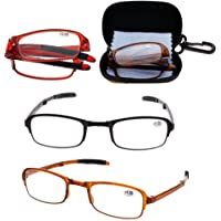 Niome TR90 Soft Light Weight Folding Reading Glasses Magnifying Fatigue Relief