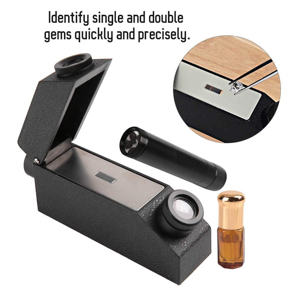 RHG181 1.30-1.81 Professional Gemstone ldentification Gem Refractometer Gem Refractometer