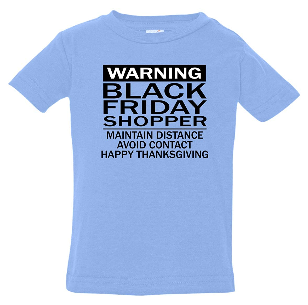 Tenacitee Babys Warning Shopper Shirt
