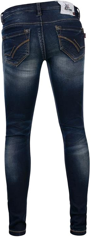 Blue Rebel M/ädchen Jeans PYROPE Comfy Ultra Skinny//Super Stretch
