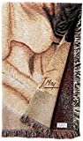 Pure Country 1168-LS Bull Mastiff Pet Blanket, Canine on Beige Background, 54 by 54-Inch