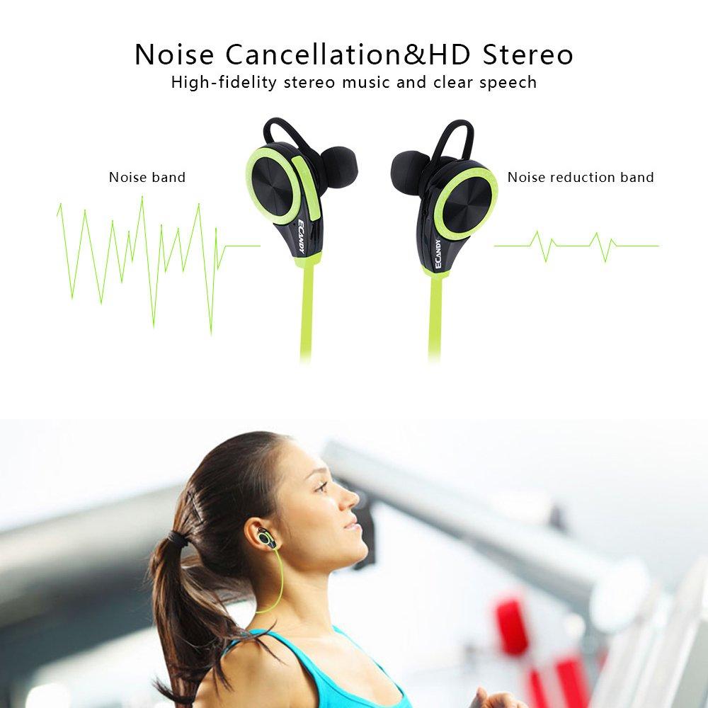 Auriculares Bluetooth 4.0 LOBKIN deportivos!Manos libres incorporado y microfono