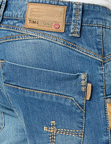 Timezone Herren Regular Harold Rough Straight Jeans
