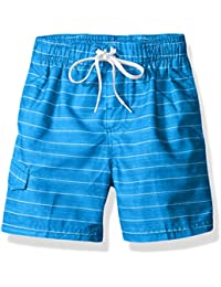 Boys' Line Up Quick Dry UPF 50+ Beach Swim Trunk