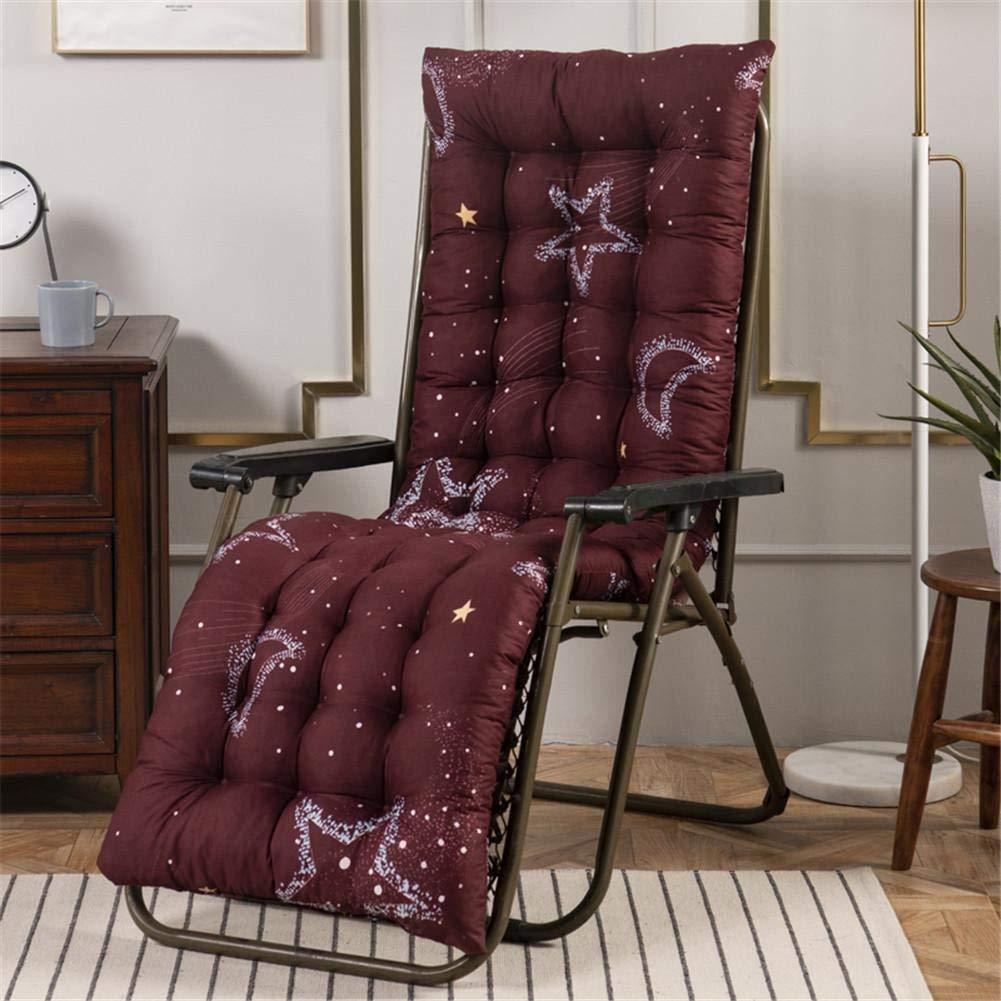 ZYN Massiv kudde matta för vilstol stol stol sits vikbar tjock trädgård sol lounge sittdyna soffa tatamimatta för vilstolar (färg: J) G