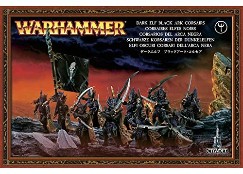 Games Workshop 99120212003 Dark Elf-Black Ark Corsairs 2008 Warhammer Action Figure