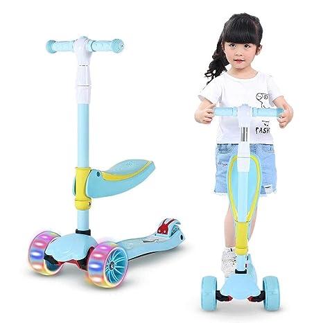 Educational Toys 05.22 - Patinete 3 en 1 Plegable para niños ...