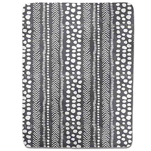 African Pathways Fitted Sheet: King Luxury Microfiber, Soft, Breathable by uneekee