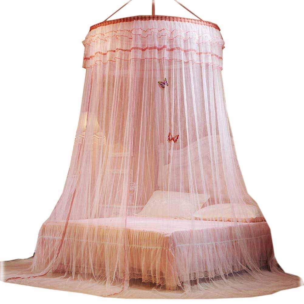 Girls Bed Net Canopy Drapes, Children Boys Mosuito Curtain Queen Large Size POPPAP MEMERYPOPPAP026