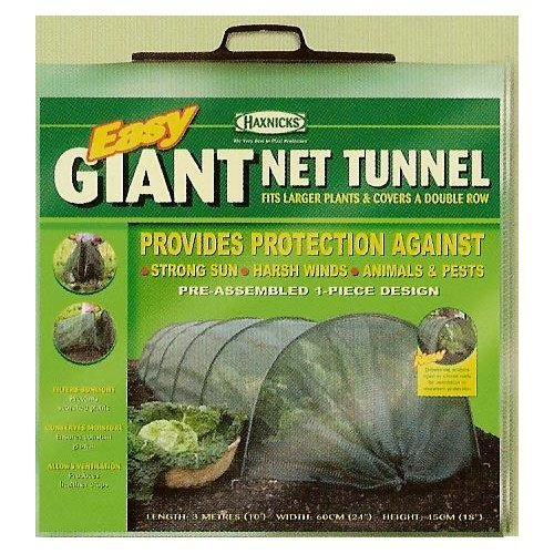 Haxnicks Outdoor Pest Protective Easy Net Tunnel - Giant Size