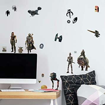 RoomMates Star Wars The Mandalorian The Child Peel and Stick Giant Wall Decals