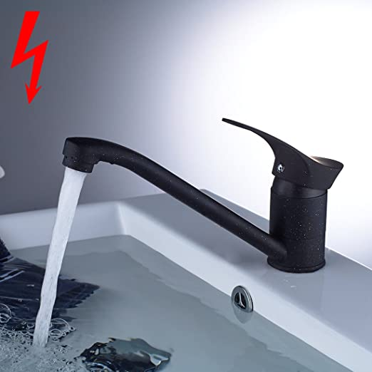 Aimadi Niederdruck Mischbatterie Badarmatur Wasserhahn Bad
