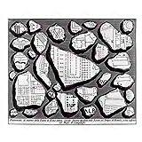 MAP PIRANESI 1756 ROME CITY ANCIENT FRAGMENTS LARGE REPLICA POSTER PRINT PAM1175