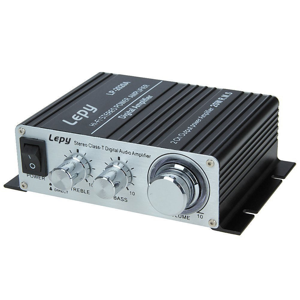 Lepy Lp 2020a Class D Hi Fi Audio Mini Amplifier With Us Power Amplifiers From A To T Supply Black Electronics