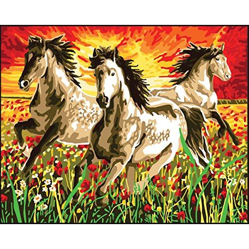 "RTO""Horses at Sunset D"