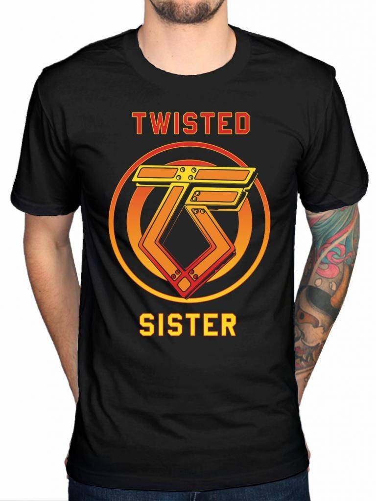 Twisted Sister You Can T Stop Rock N Roll T Shirt Heavy Metal Rock Band