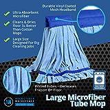 Bulk Large Microfiber Tube Mop Head