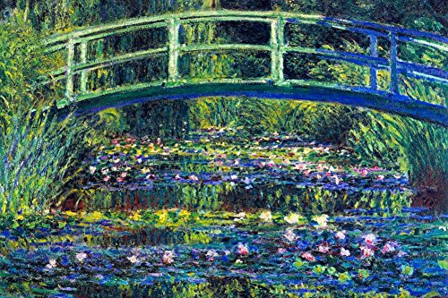 Laminated Claude Monet Water Lily Pond 2 Art Print by Claude Monet