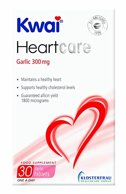 Kwai - Garlic Tablets Once A Day - 30 Tabs