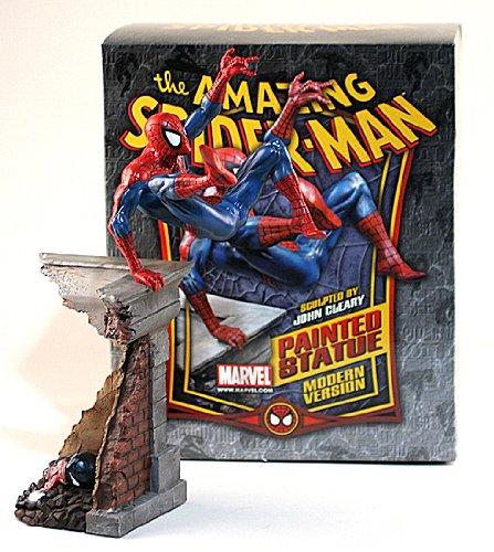 - Modern Spider-Man Statue Signed by Stan Lee by Bowen Designs