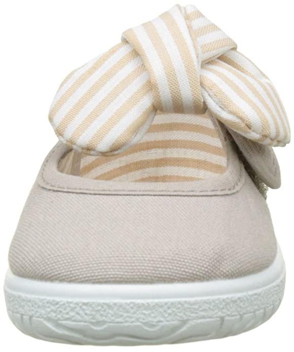 Amazon.com | Victoria Baby Girls Mercedes Lona Pañuelo Ballet Flats | Mary Jane