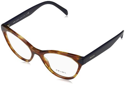 c7bd544ff15 Image Unavailable. Image not available for. Color  Prada Women s PR 02TV  Eyeglasses Medium Havana 52mm