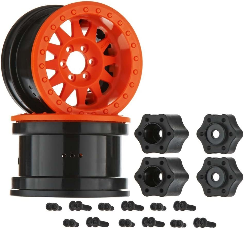 Axial AX31364 2.2 Method Beadlock Wheel Orange