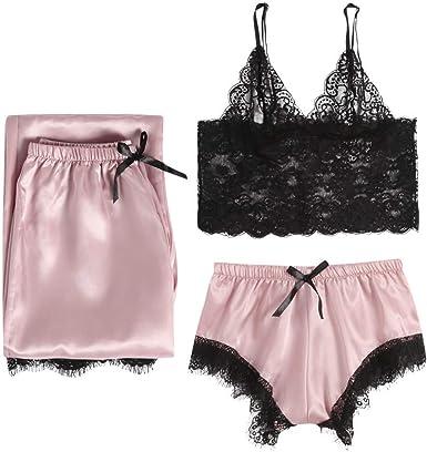 Conjunto de Pijama Corto para Mujer, Pijama Corto, Vestido de ...