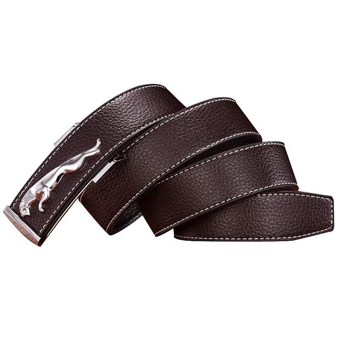 Cinturón Cuero Genuino Hombre cacec8972b2f
