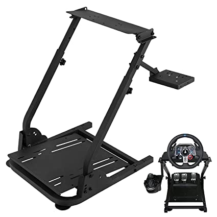 Amazon com: US Gaming Wheel Stand Simulator Racing Driving Conquer