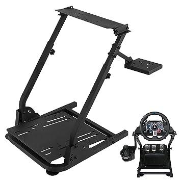 Amazon Com Us Gaming Wheel Stand Simulator Racing Driving Conquer