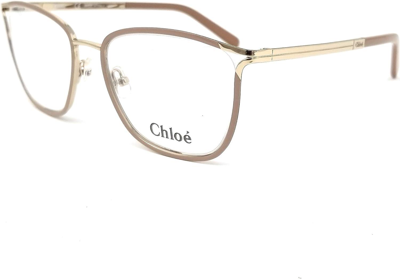 Chloé CE2129 719 51 Monturas de Gafas, Gold/Nude, Unisex-niños: Amazon.es: Ropa y accesorios