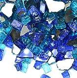 VIVID Heat Vibrant Luster 1/2''Tropical Blue Premium Blend Medium...