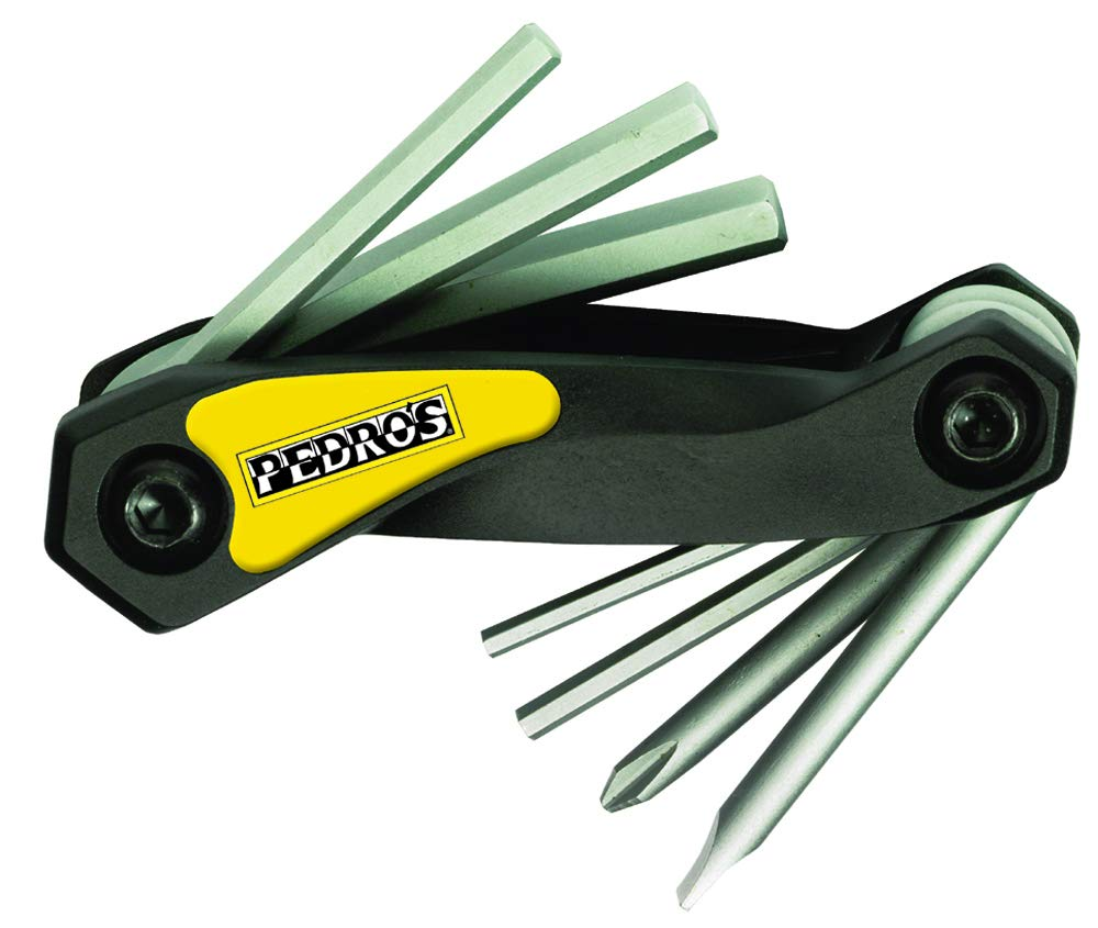 Pedro's Folding Allen Wrench with Screwdrivers