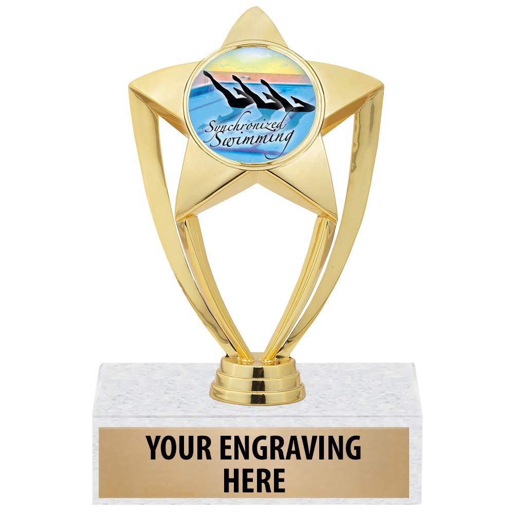 クラウンAwards Synchronized Swimming Trophy – 6