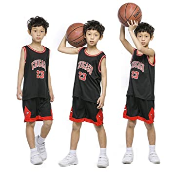 new product 0e2ce a73a7 XCR Kids Boys Girls Men Adults NBA Michael Jordan #23 Chicago Bulls RETRO  Basketball Jerseys Summer Suits Kits Top+Short 1 Set