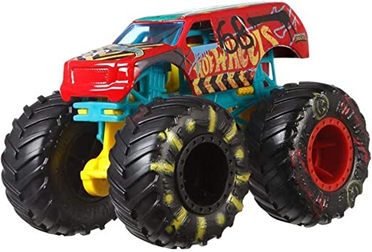 Amazon Com Hot Wheels 2019 Monster Trucks Demo Derby 1 64 Scale Kitchen Dining