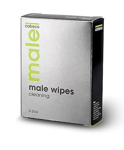 MALE Cobeco Wipes Cleaning refresca la zona intima del hombre de forma fácil y rápida -