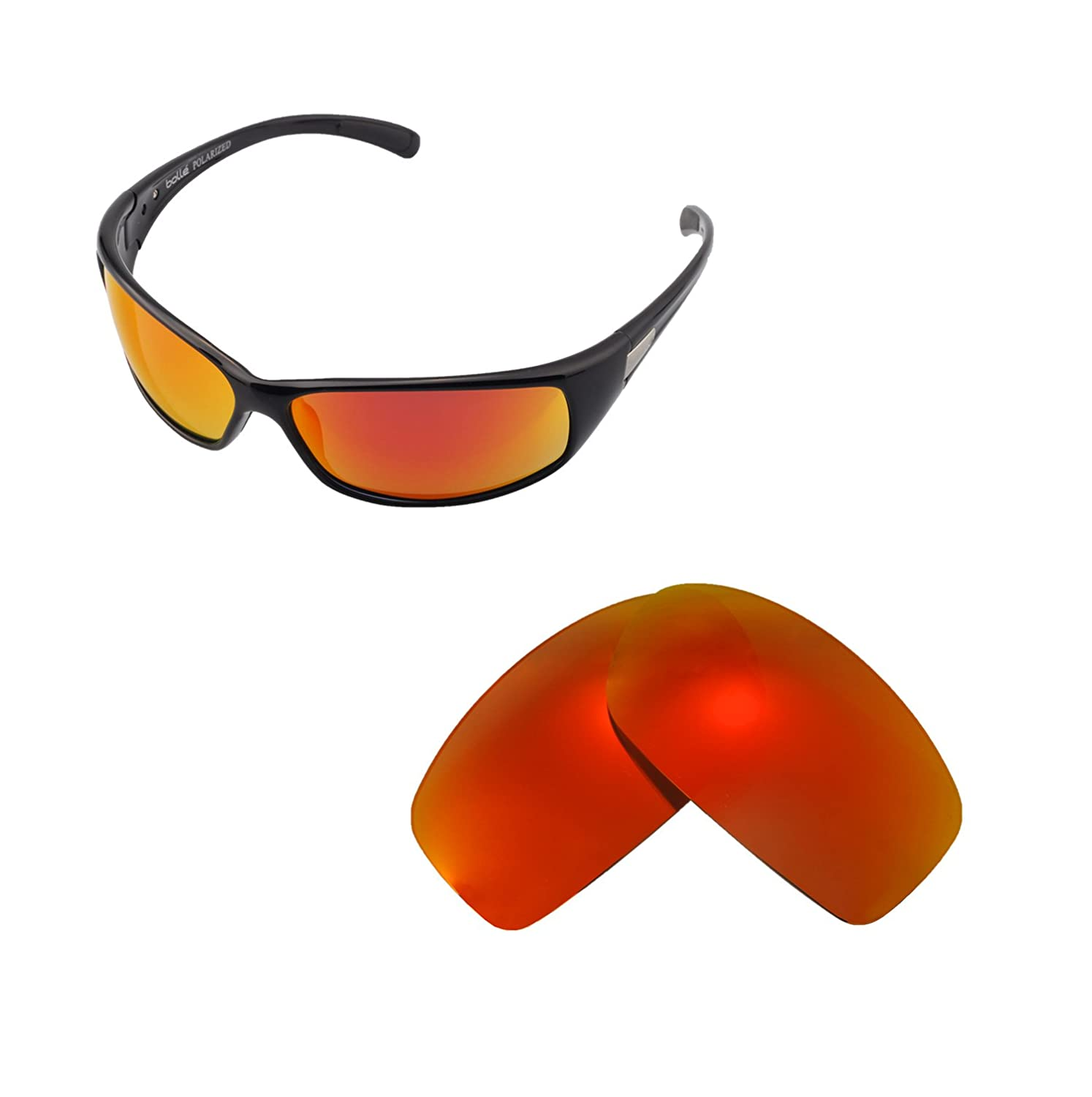 Multiple Options Walleva Replacement Lenses for Bolle Recoil