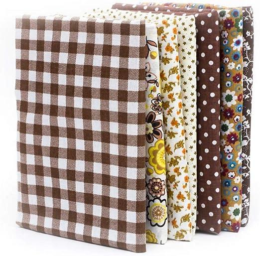 Souarts - Tela de algodón por metro para costura, para patchwork ...